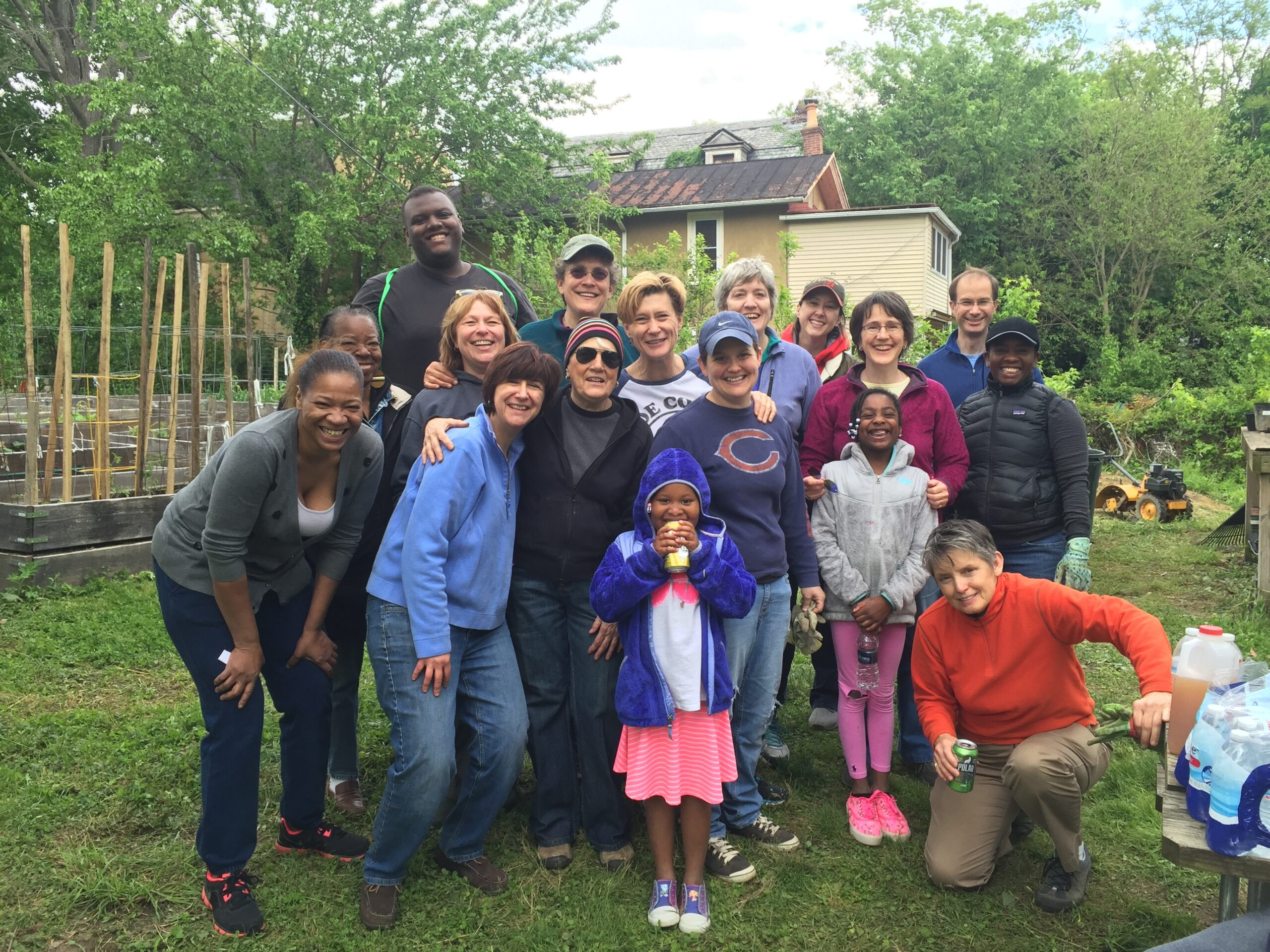 GO! and Hansberry Garden group picture