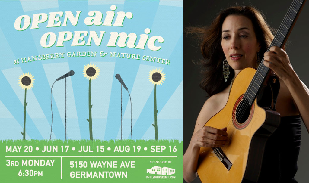 Multilingual Musician Phyllis Chapell to Host Open Air Open Mic  in July